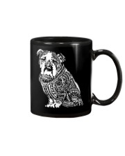 Bulldog Pattern 280218 Mug tile