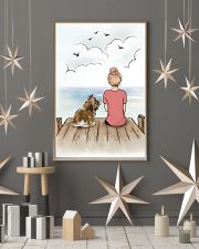 Shih Tzu and Girl Poster 1212  11x17 Poster lifestyle-holiday-poster-1