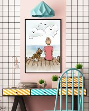 Shih Tzu and Girl Poster 1212  11x17 Poster lifestyle-poster-6