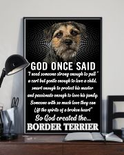 Border Terrier God Once Said Poster 2901  11x17 Poster lifestyle-poster-2