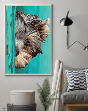 Yorkshire Terrier Half Face 11x17 Poster lifestyle-poster-1