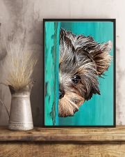 Yorkshire Terrier Half Face 11x17 Poster lifestyle-poster-3