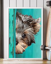 Yorkshire Terrier Half Face 11x17 Poster lifestyle-poster-4