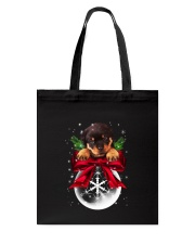 Rottweiler Snowball Tote Bag tile