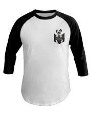 Dalmatian Pocket 4 Baseball Tee thumbnail