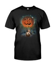 Pumpkin Balloon Beagle Classic T-Shirt thumbnail