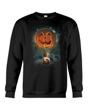 Pumpkin Balloon Beagle Crewneck Sweatshirt thumbnail