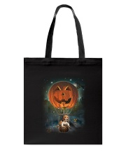 Pumpkin Balloon Beagle Tote Bag thumbnail