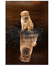 Shar Pei Believe 11x17 Poster front