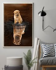 Shar Pei Believe 11x17 Poster lifestyle-poster-1