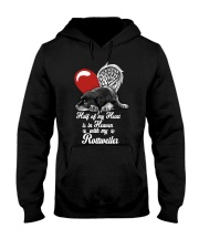 Rottweiler Half Heart 190918 Hooded Sweatshirt thumbnail