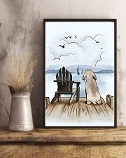 Weimaraner Waiting Poster 1512  11x17 Poster lifestyle-poster-3