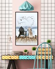 Weimaraner Waiting Poster 1512  11x17 Poster lifestyle-poster-6