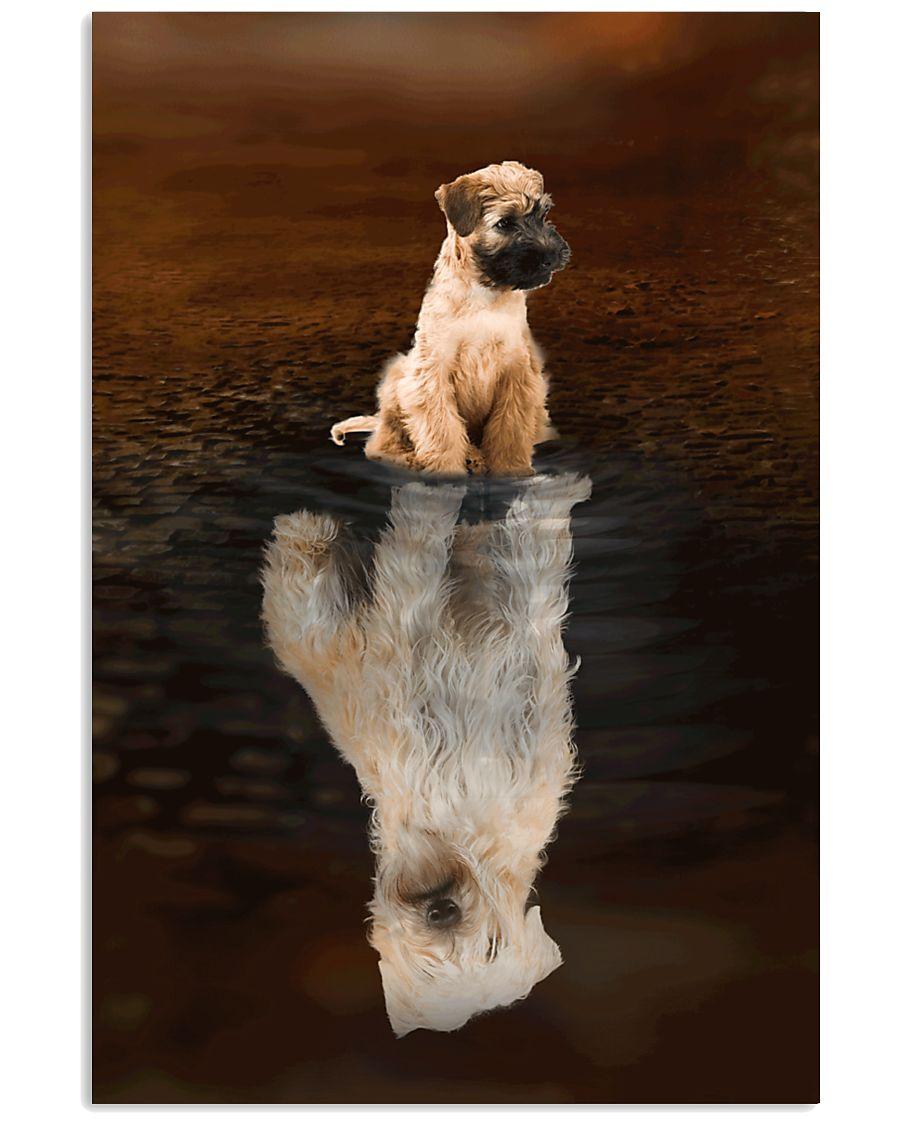 Irish Terrier Believe 11x17 Poster
