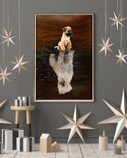 Irish Terrier Believe 11x17 Poster lifestyle-holiday-poster-1