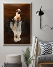 Irish Terrier Believe 11x17 Poster lifestyle-poster-1