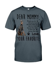 Doberman Pinscher Dear Mommy Mug 2501 Classic T-Shirt thumbnail