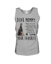 Doberman Pinscher Dear Mommy Mug 2501 Unisex Tank thumbnail