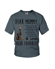 Doberman Pinscher Dear Mommy Mug 2501 Youth T-Shirt thumbnail