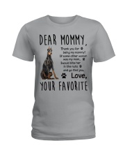 Doberman Pinscher Dear Mommy Mug 2501 Ladies T-Shirt thumbnail