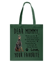 Doberman Pinscher Dear Mommy Mug 2501 Tote Bag thumbnail