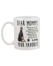 Doberman Pinscher Dear Mommy Mug 2501 Mug back