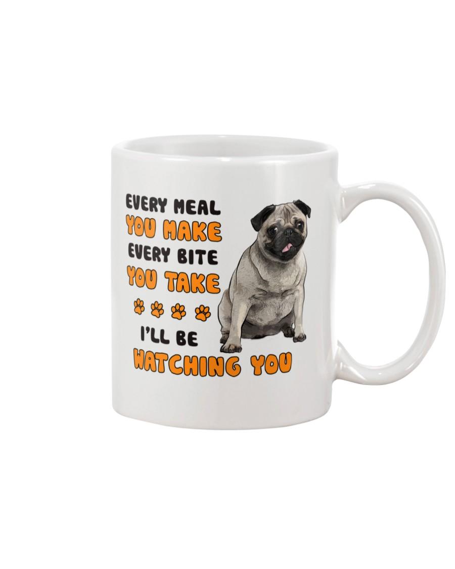 Pug I Will Be Watching 1401 Mug