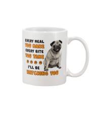 Pug I Will Be Watching 1401 Mug front