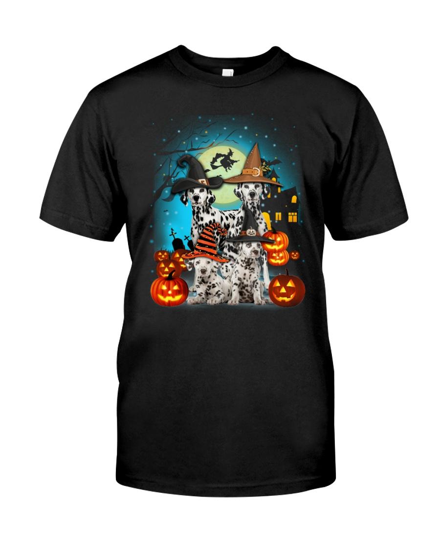 Dalmatian Halloween 2407 Classic T-Shirt