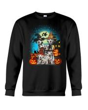 Dalmatian Halloween 2407 Crewneck Sweatshirt thumbnail