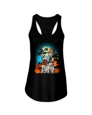 Dalmatian Halloween 2407 Ladies Flowy Tank tile