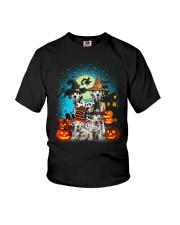 Dalmatian Halloween 2407 Youth T-Shirt thumbnail