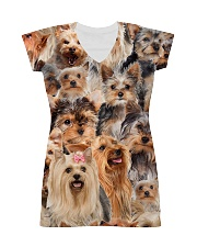 Yorkshire Terrier Great All-over Dress thumbnail