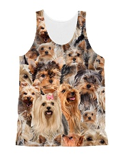 Yorkshire Terrier Great All-over Unisex Tank front