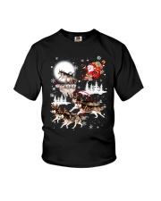 Alaskan Malamute Reindeers 1212 Youth T-Shirt thumbnail