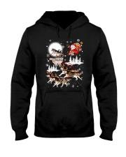 Alaskan Malamute Reindeers 1212 Hooded Sweatshirt thumbnail