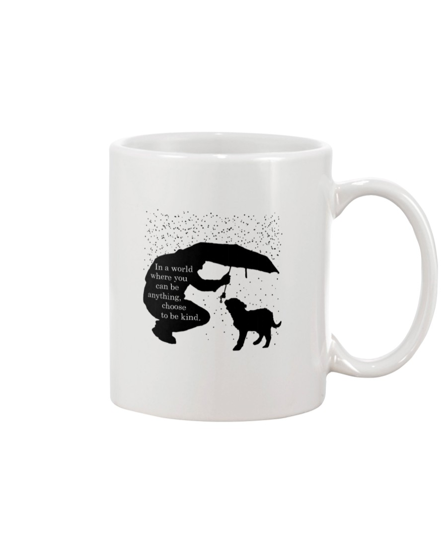 Dog Choose Be Kind Mug