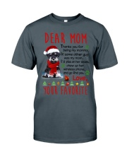 Miniature Schnauzer Mommy Christmas Classic T-Shirt thumbnail