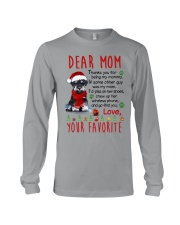 Miniature Schnauzer Mommy Christmas Long Sleeve Tee tile