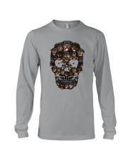 Rottweiler Skull 1012 Long Sleeve Tee thumbnail