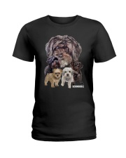 Schnoodle Awesome Family 0701 Ladies T-Shirt thumbnail
