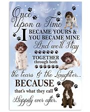 Lagotto-Romagnolo I Became Yours 1001  11x17 Poster front