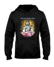 Siberian Husky Mom Hooded Sweatshirt thumbnail