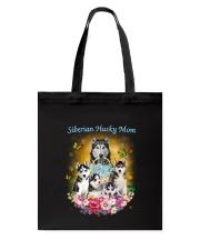 Siberian Husky Mom Tote Bag thumbnail