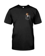 Bulldog Skeleton Pocket 0712 Classic T-Shirt thumbnail