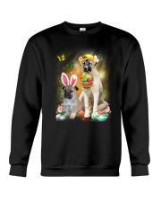Anatolian Shepherd Happy Easter Day 2601  Crewneck Sweatshirt thumbnail