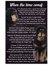 Tibetan Mastiff The Time Comes Poster 2301 11x17 Poster front