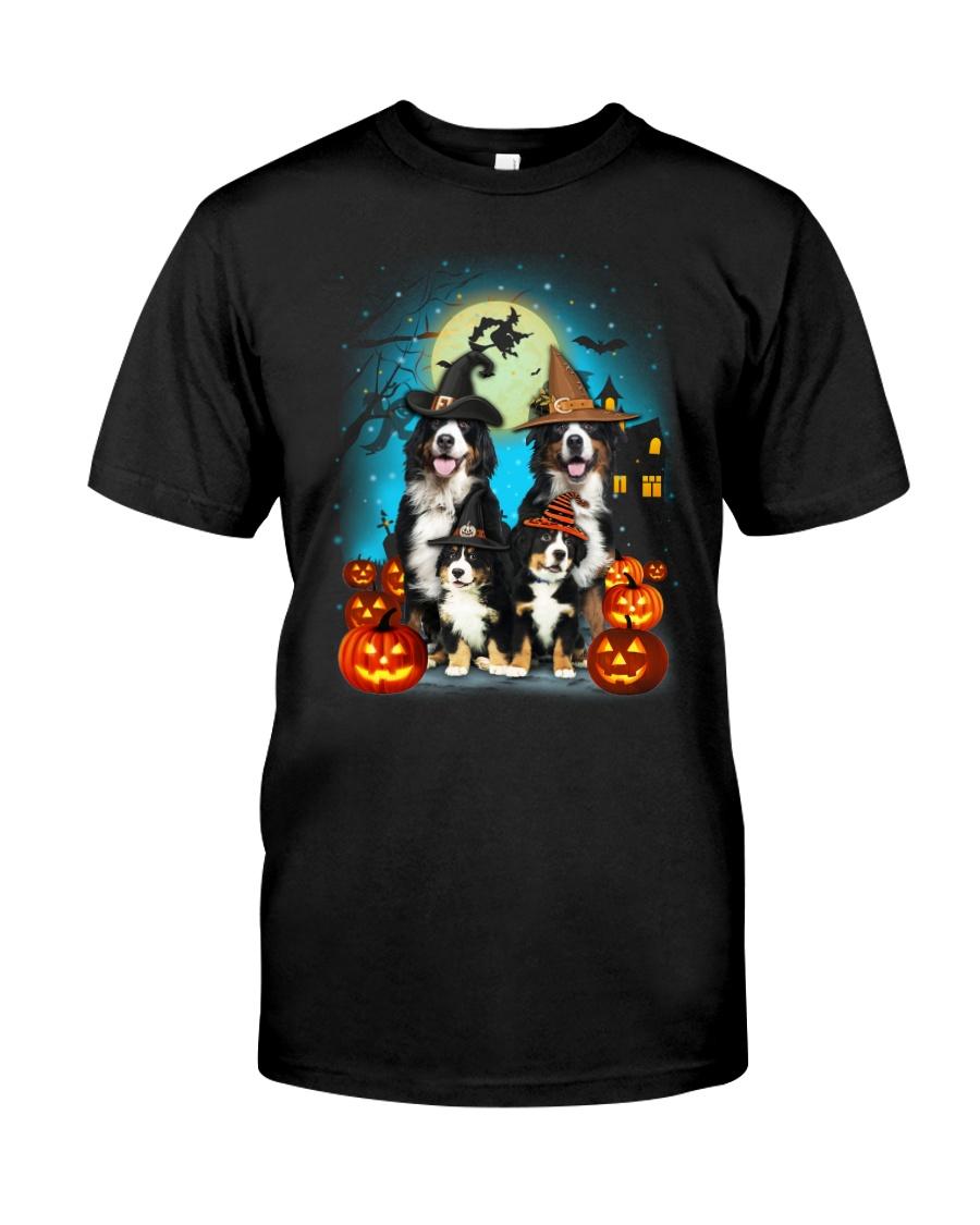 Gaea - Bernese Mountain Dog Halloween - 1608 - 14 Classic T-Shirt