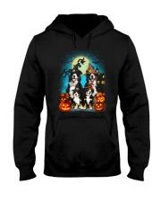 Gaea - Bernese Mountain Dog Halloween - 1608 - 14 Hooded Sweatshirt thumbnail