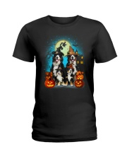 Gaea - Bernese Mountain Dog Halloween - 1608 - 14 Ladies T-Shirt thumbnail